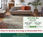 Designer Area Rugs at Discounted Price