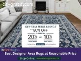 Enjoy Up to 80% Off on All Area Rugs