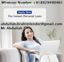 Finance quick loan offer