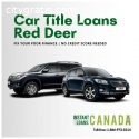 Fix poor finance Car Title Loans RedDeer