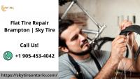Flat Tire Repair in Brampton: Sky Tire