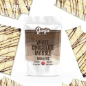 Ganja Edibles – White Chocolate Marble