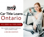 Get Car Title Loans Ontario with if you