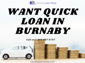 Get quick loan in Burnaby