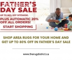 Get up to 80% Off For Area Rugs in Fathe