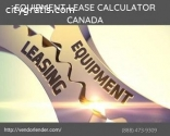 LEASE CALCULATOR CANADA