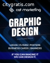 Logo Design - Cat Marketing, Edmonton