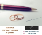 Marriage Contract Lawyers in Quebec
