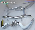 Mercedes 300SL bumper in stainless steel