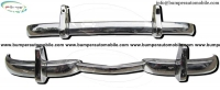 Mercedes W186 300 bumper (1951-1957) by