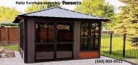 Patio furniture assembly Ottawa