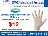 PPE (Masks, Disposable Gloves, Thermomet