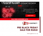 Pre Black Friday Sale for Rugs - Buy Now