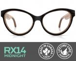 RX14 Midnight Eyeglasses with Prescripti