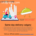 Same day delivery Calgary