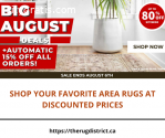 Shop Your Favorite Area Rugs at Discount