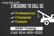 The best Towing Surrey Company is here