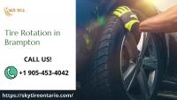 Tire Rotation in Brampton -  Sky Tire