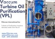 Vacuum Turbine Oil Purification System (