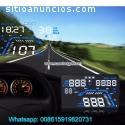 5.5inch Car GPS Hud Display Vehicle Spee