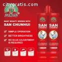 Agente de masilla de dos componentes azu