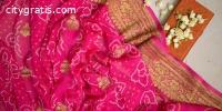 Bandhani Saree Online Shopping