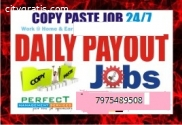 Bangalore Copy paste job | Daily Income