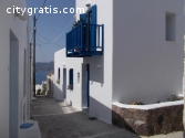 Greece  island of Milos, rent  house