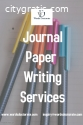 journal paper writing Services