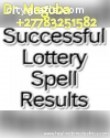 LOTTERY SPELLS THAT WORK FAST BY DR. MAG