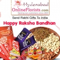 Sending Rakhi with Sweets to Hyderabad