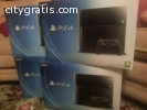 Sony playstation PS4 + 3 free game