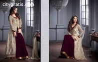 Women's clothing Long Dresses-Gown-Saree