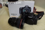 CANON 5D MARK III AND LENS 24-105