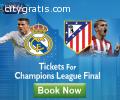 Champions League Final 2016 Tickets Avai