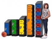 Durable and Multipurpose Staff Lockers