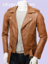 Leather Jackets Made from Sheepskin
