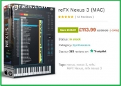 reFX Nexus 3 is for Sale Only £113.99