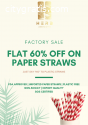 Wanted Distributors for Paper Straws