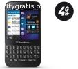 BLACKBERRY Q5 black (Silver-67157)