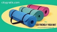 Buy ethically made organic yoga mats fro
