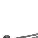 Cali Double Towel Rail 750mm – Gunmetal