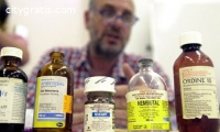 Ketamine, Ritalin, Oxycontin, Amphetamin