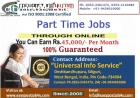 Part Time Job Available, Earn Rs.350/- t