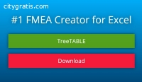 #1 FMEA Software for Excel