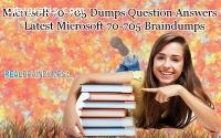 100% verified 70-705 Dumps Question Answ