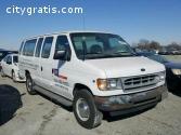 2001 Ford Econoline E-350 15 Passenger $