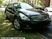2013 INFINITI G37X Sedan AWD' Black On B
