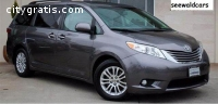 2015 TOYOTA SIENNA XLE WITH 36,341 MILES