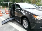 2016 Toyota Sienna Limited Mobility Van
